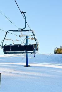 The ski lift at Brookvale Ski Park