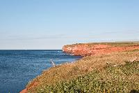 The North Shore has some of the highest coastline on Prince Edward Island.