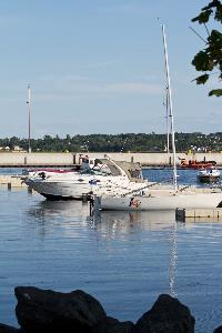 Boats are mourned at the Charlottetown Harbour
