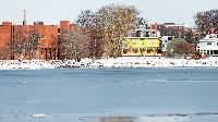 Beaconsfield is a very history building located in downtown Charlottetown. To the left is one of the provincial offices
