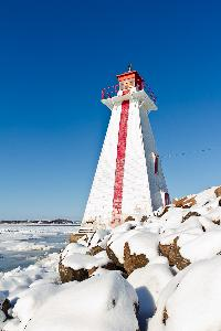 Brighton Beach Range Light House is located near Victoria Park in Charlottetown. The lighthouse is one of the most photographed lighthouses on PEI