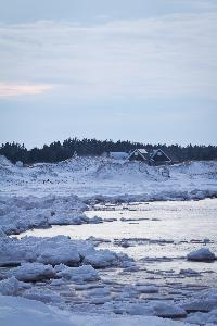 Cavendish Beach is a popular summer destination as vacationers take in the beautiful beach. Not so much in winter