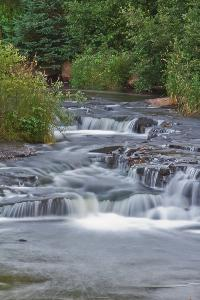 Campbell River/Pond is known for its small beautiful waterfall. Located North of Hunter River